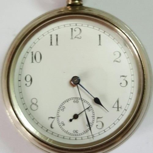 New England Watch Co. Grade Padishah Pocket Watch Image