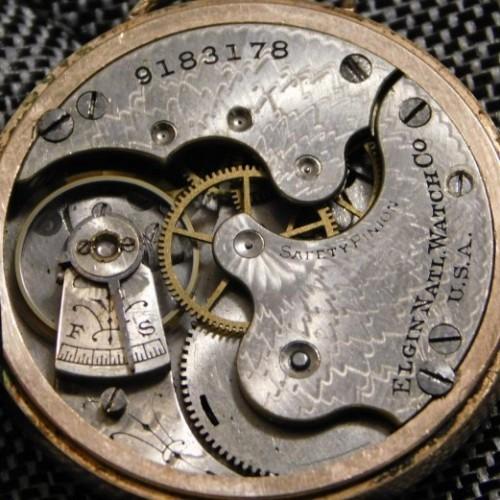Elgin Grade 222 Pocket Watch
