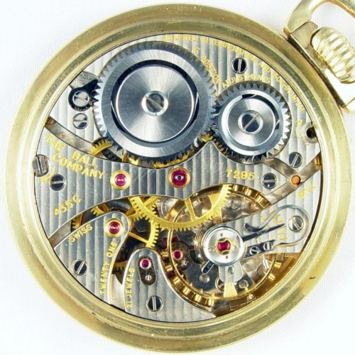 Ball Grade 435C Pocket Watch Image