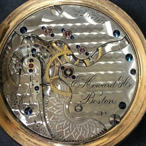 E. Howard & Co. Grade  Pocket Watch Image