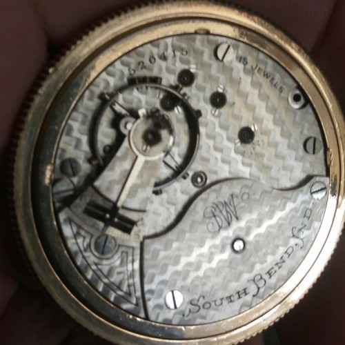 South Bend Grade 332 Pocket Watch Image