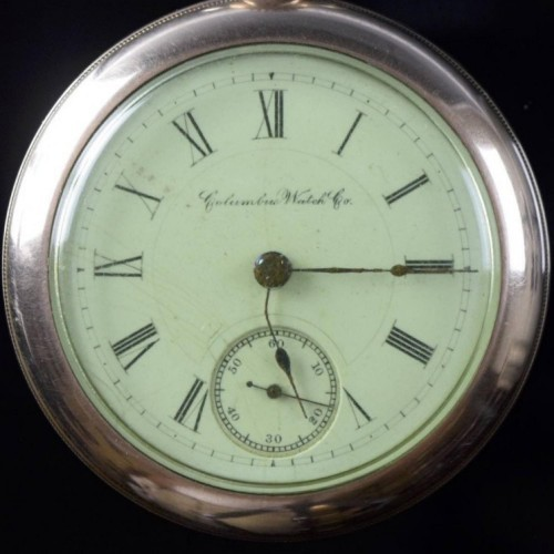 Columbus Watch Co. Grade 92 Pocket Watch Image
