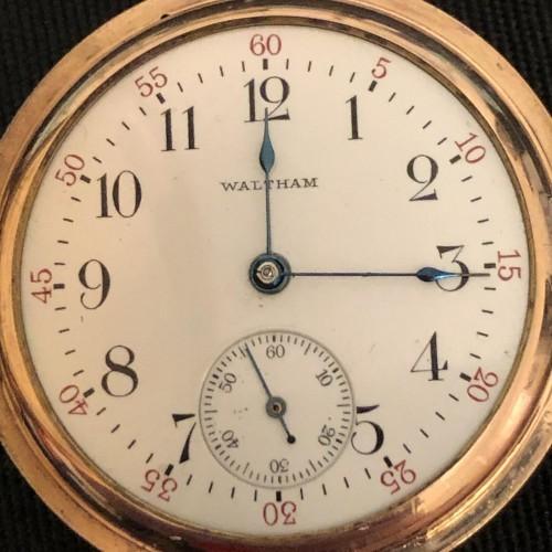 Waltham Grade No. 161 Pocket Watch Image