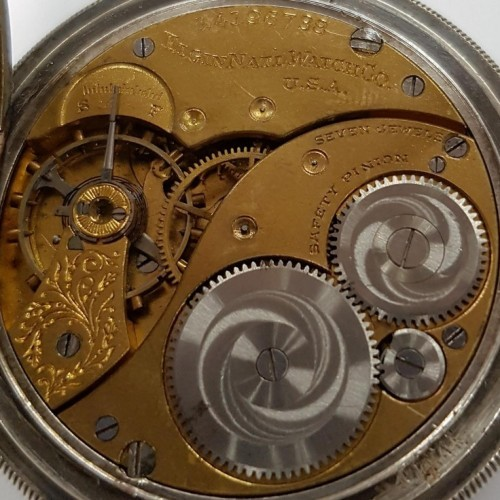 Elgin Grade 310 Pocket Watch Image