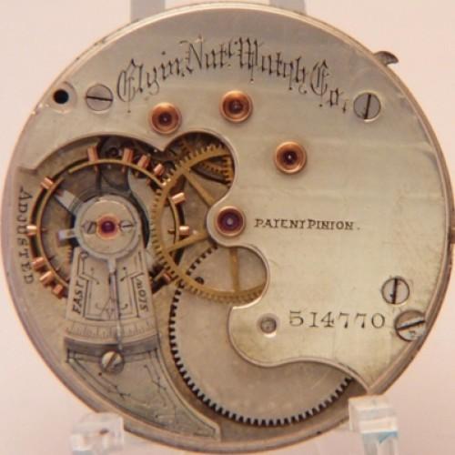 Elgin Grade 71 Pocket Watch Image