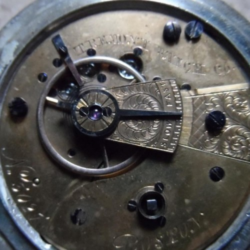 Tremont Watch Co. Grade Unknown Pocket Watch Image