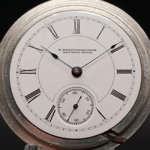 Columbus Watch Co. Grade 21 Pocket Watch Image