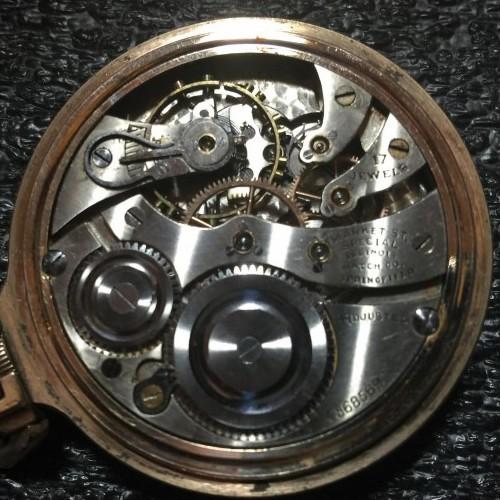 Illinois Grade 705 Pocket Watch Image