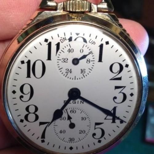 Elgin Grade 494 Pocket Watch Image