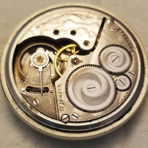 Elgin Grade 386 Pocket Watch Image