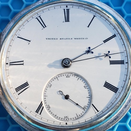 U.S. Watch Co. (Marion, NJ) Grade John W. Lewis Pocket Watch Image