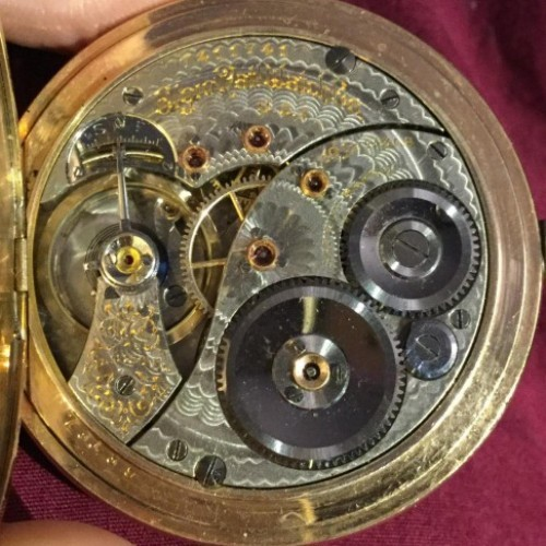 Elgin Grade 189 Pocket Watch Image