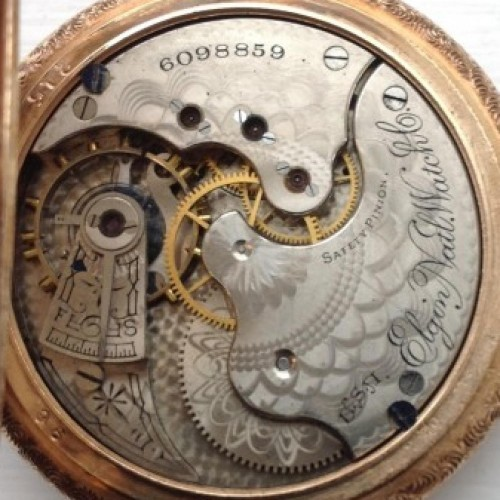 Elgin Grade 136 Pocket Watch Image