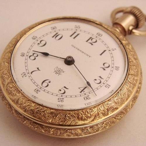 Waterbury Watch Co. Grade Series L Pocket Watch Image