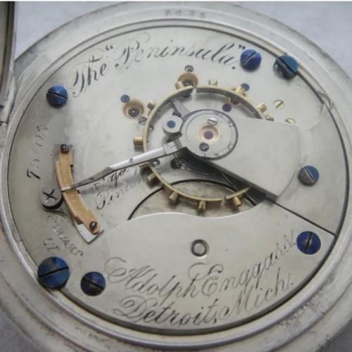 Aurora Watch Co. Grade 113 Pocket Watch Image