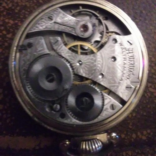 Waltham Grade No. 610 Pocket Watch Image