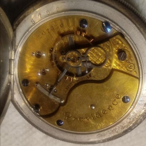 Seth Thomas Grade 59 Pocket Watch Image