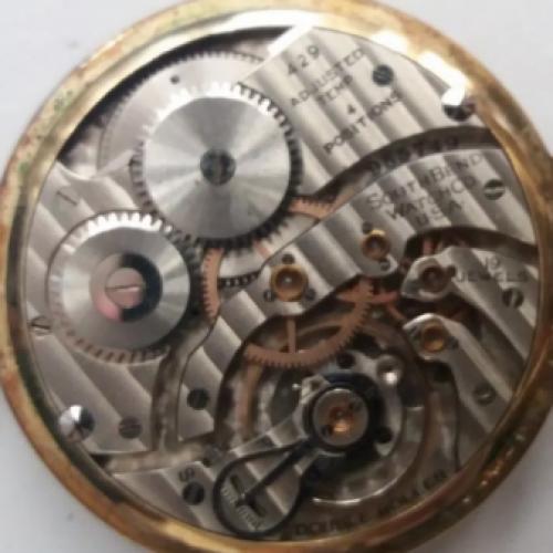South Bend Grade 429 Pocket Watch Image
