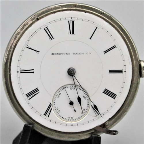Lancaster Watch Co. Grade Keystone Pocket Watch Image