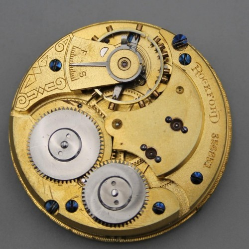 Rockford Grade 114 Pocket Watch Image