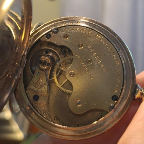 Waltham Grade E Pocket Watch
