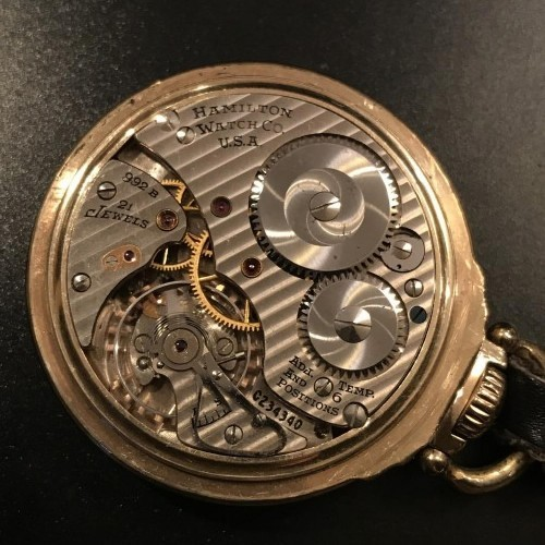 Image of Hamilton 992B #C234340 Movement