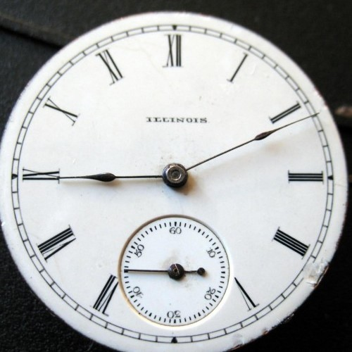 Illinois Grade 141 Pocket Watch Image