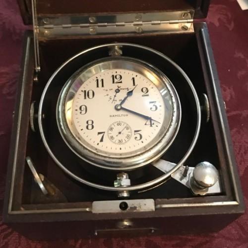 Hamilton Grade Chronometer Pocket Watch Image