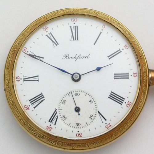 Rockford Grade 610 Pocket Watch Image