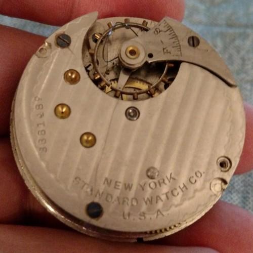 New York Standard Watch Co. Grade 65 Pocket Watch Image
