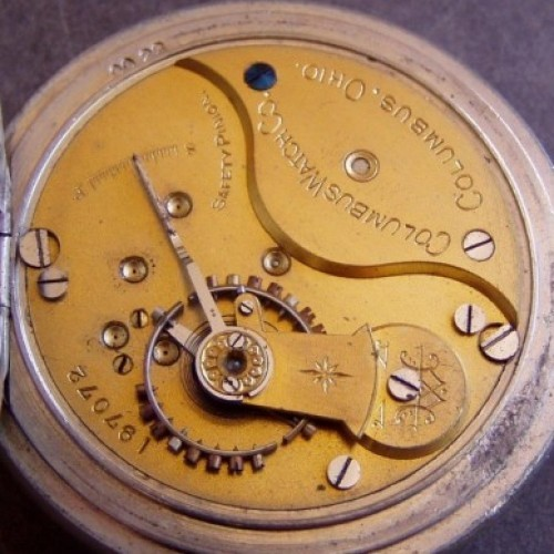 Columbus Watch Co. Grade 90 Pocket Watch Image