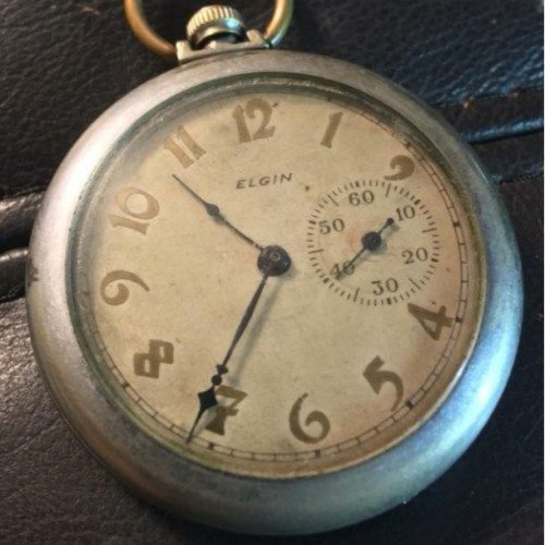 Elgin Grade 118 Pocket Watch Image
