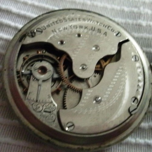 U.S. Watch Co. (Waltham, Mass) Grade 110 Pocket Watch Image