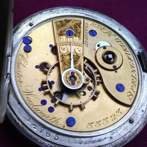 Hampden Grade Woolworth Pocket Watch Image