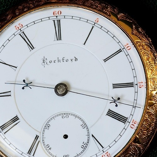 Rockford Grade 76 Pocket Watch Image