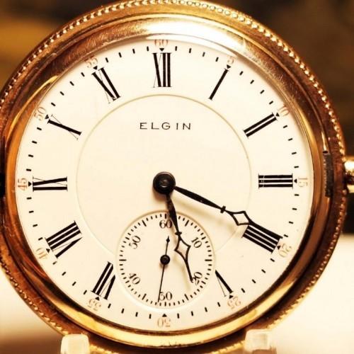 Elgin Grade 156 Pocket Watch Image