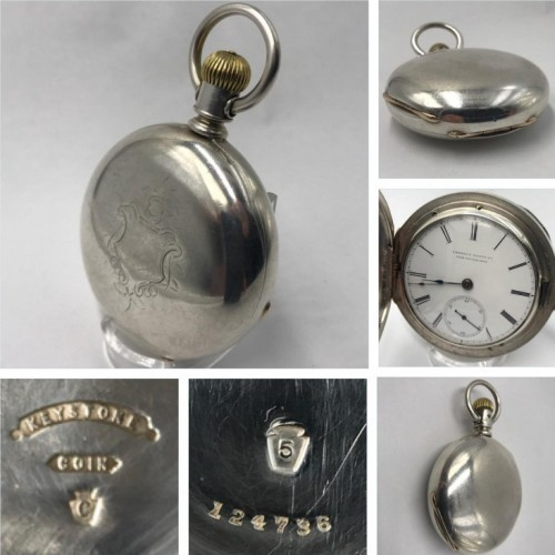 Cornell Watch Co. Grade  Pocket Watch Image