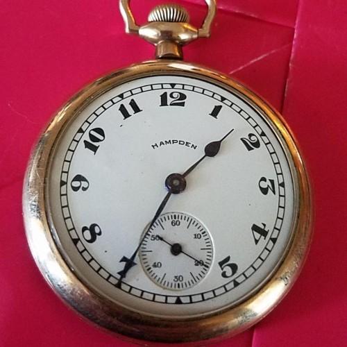 Hampden Grade No. 307 Pocket Watch Image