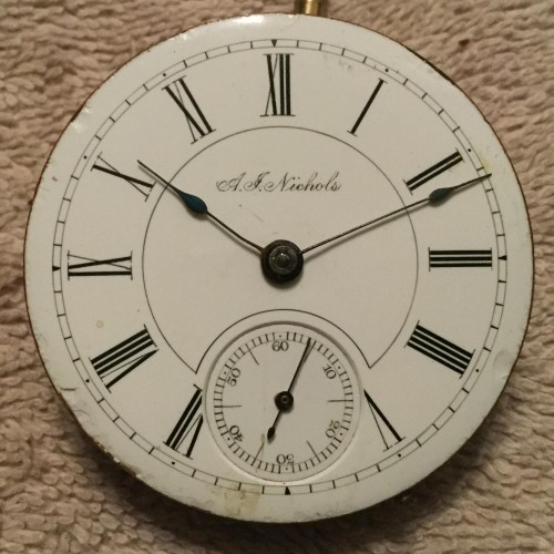 Seth Thomas Grade Unknown Pocket Watch Image