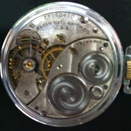 Elgin Grade 314 Pocket Watch Image