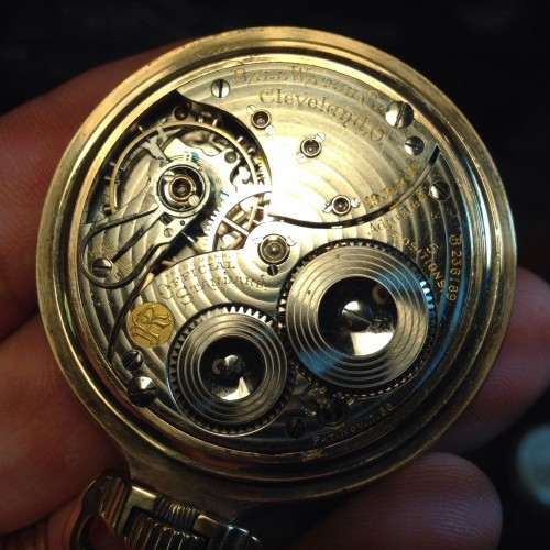 Image of Ball - Waltham Official Standard #B256189 Movement