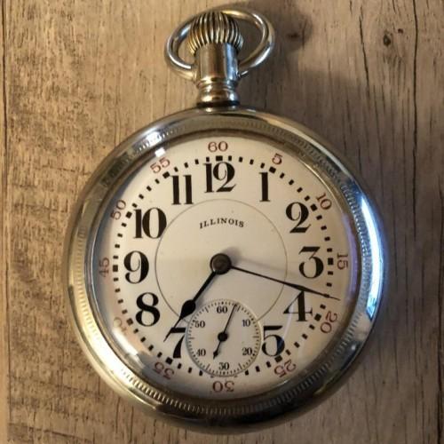 Illinois Grade 89 Pocket Watch Image