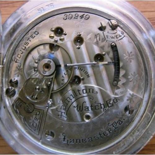 Hamilton Grade 935 Pocket Watch Image