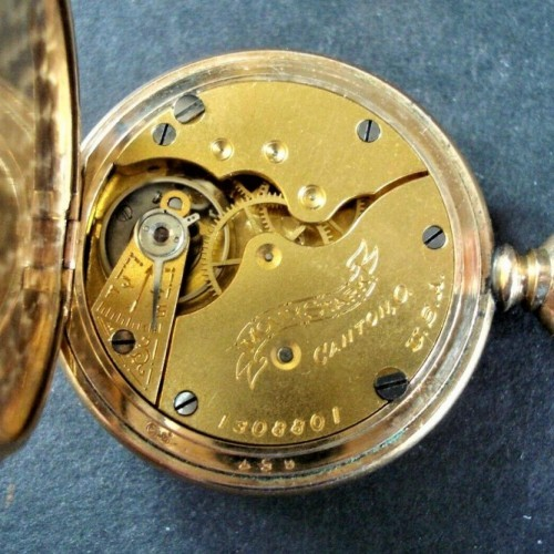 Hampden Grade Molly Stark Pocket Watch Image
