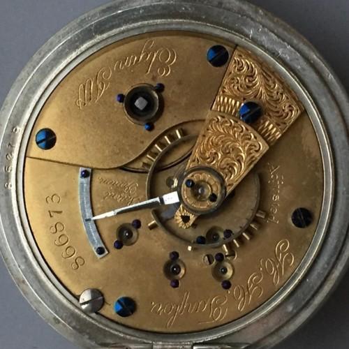 Elgin Grade 79 Pocket Watch Image