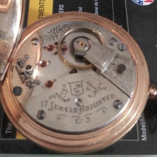 Hampden Grade Anchor Pocket Watch Image