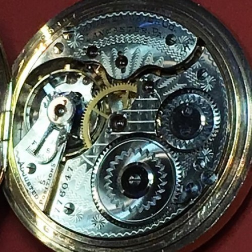 Hamilton Grade 973 Pocket Watch Image