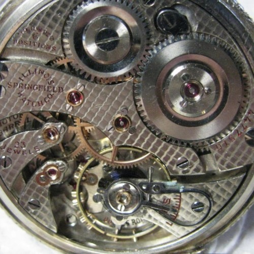 Illinois Grade 410 Pocket Watch Image