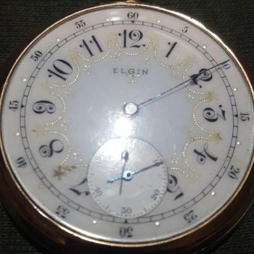 Elgin Grade 105 Pocket Watch Image