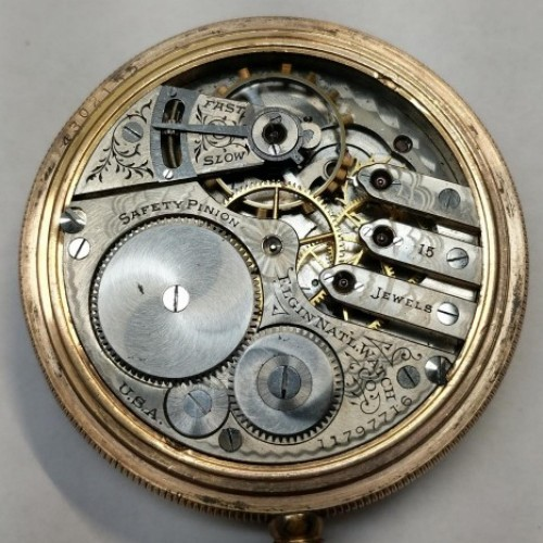 Elgin Grade 305 Pocket Watch Image